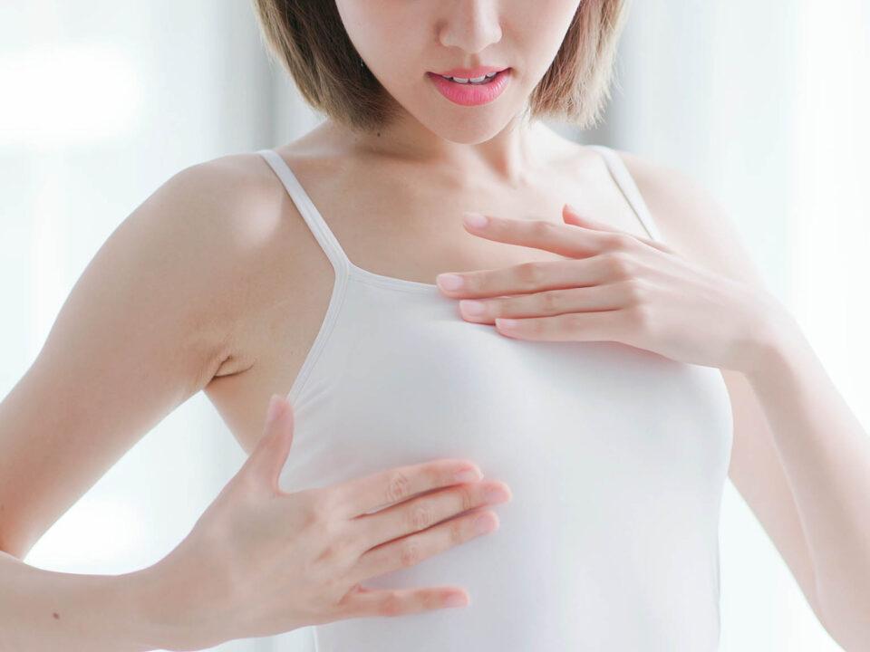 Методика самообстеження молочних залоз